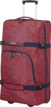 Samsonite Reistas Met Wielen - Rewind Duffle/Wh 82/31 (Extra Large) Capri Red Stripes