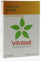 Vitotaal® Siberische Ginseng - 45 capsules - Voedingssupplement
