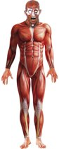 Second Skin pak Anatomische man met masker maat M