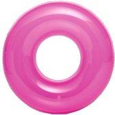 Intex Zwemband Transparant 76 Cm Roze