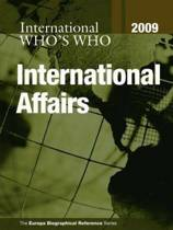 Who's Who in International Affairs 2009