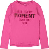 Name it Meisjes T-shirt - Fuchsia Purple - Maat 146-152