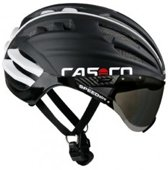 CASCO SPEEDAIRO fietshelm race zwart met vizier maat M 54-58cm