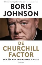 Boek cover De Churchill factor - biografie Winston Churchill van Boris Johnson (Onbekend)