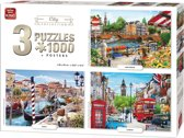 Puzzel City Collection 3-In-1 1000 stukj