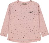 Tumble 'n Dry Meisjes T-shirt Ygrietje - Silver Pink - Maat 86