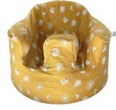 Bumbo seat cover - Bumbo floorseat cover - Bumbo hoes - Dandelion Geel
