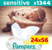 Pampers Sensitive Billendoekjes - 24 x 56 stuks