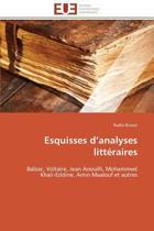 Esquisses D Analyses Litt�raires