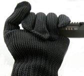 BonQ Steekwerende Handschoenen - Zwart