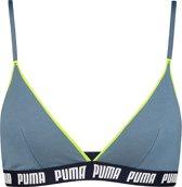 Puma - Dames Triangle Bralette Blauw  - M