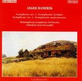 Hamerik Asger:Sym.3&4/Dausgaar