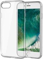 Nieuwetelefoonhoesjes.nl Apple Iphone 7 / 8 Luxe siliconen bookcase hoesjes zilver/goud