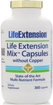 Life Extension Mix - 360 capsules with out copper