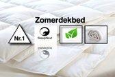 Sleepnext Luxe Hotel Zomerdekbed - 100% Natuurlijk Katoen - Lits-Jumeaux 240x220cm