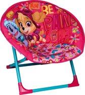 Opklapbare moon chair Paw Patrol Roze