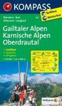 Kompass WK60 Gailtaler Alpen, Karnische Alpen, Oberdrautal