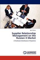 Supplier Relationship Management on the Russian It Market