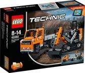 LEGO Technic Wegenbouwploeg - 42060