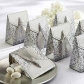 Luxe Kartonnen Geschenk / Cadeau Doosjes - 10 X Bedank Doosje - Cadeauverpakking