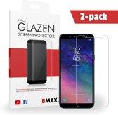 2-pack BMAX Samsung Galaxy A6 Glazen Screenprotector | Beschermglas | Tempered Glass