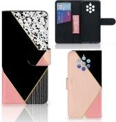 Bookcase Nokia 9 PureView Zwart Roze Vormen