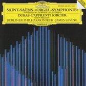 Saint-Saens: Symphony no 3;  Dukas / Levine, Berlin PO