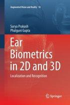 Ear Biometrics in 2D and 3D