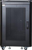 LOGON RSL16U61BL Vrijstaande rek 16U 600kg Zwart rack