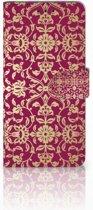 Huawei Mate 20 Pro Boekhoesje Design Barok Pink