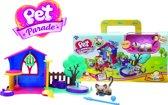 Pet Parade - Koffer Playhouse speelset met een exclusieve kat