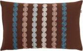 Kussenhoes Fonta 30x50 cm bruin