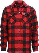 Longhorn houthakkers overhemd/jas Canada rood maat Medium