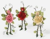 Rose Fairy Ornament
