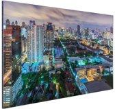 Washington DC Skyline Aluminium 30x20 cm - Foto print op Aluminium (metaal wanddecoratie)