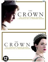 DVD cover van The Crown - Seizoen 1 en 2