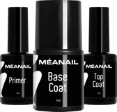 MEANAIL® Primer Base & Top Coat - Gel nagellak
