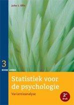 Statistiek voor de psychologie 3 - Statistiek voor de psychologie deel 3