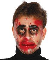 Halloween Masker Transparant voorkant