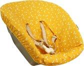 UKJE.NL Hoes voor newborn set Stokke TrippTrapp - Vrolijk geel met driehoekjes ♥