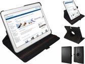 360 graden draaibare hoes voor Samsung TabPro 10.1, zwart , merk i12Cover