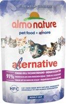 Almo Nature Alternative Cat Natvoer - Indische Oceaan Tonijn - 24 x 55 gram