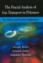 Fractal Analysis of Gas Transport in Polymers