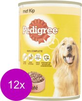 Pedigree Paté met Kip - Hond - Volledig natvoer - 3 x 400 gr