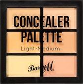 Barry M Concealer Palette - Light-Medium