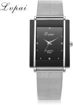 LVPAI Casual Horloge - Zwart - In horlogedoosje