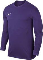 Nike  Park VI LS Teamshirt Junior  Sportshirt performance - Maat XS  - Unisex - paars