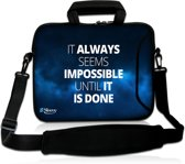 Laptoptas 17,3 inch impossible - Sleevy