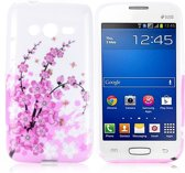 Pink plum Silicone hoesje Samsung Galaxy Trend 2 SM-G313HN