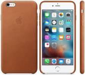Apple iPhone 6s hoesje van leer - Cognac Bruin